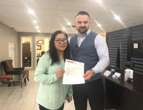 Welcome to Canada- Another Work Permit Success Story – Congratulations to Ms. Vercily!