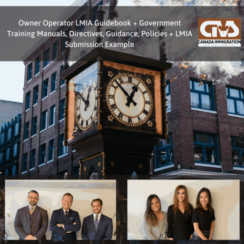 Owner Operator Guidebook Government Manuals and LMIA Submission