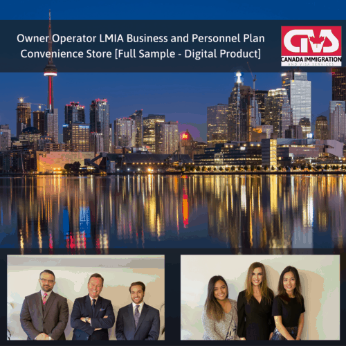 Owner Operator LMIA Business Plan - Convenience Store