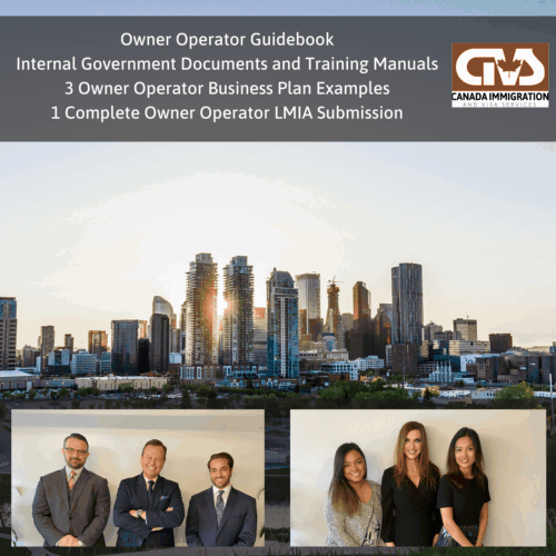 Owner Operator LMIA Manuals Training Business Plan