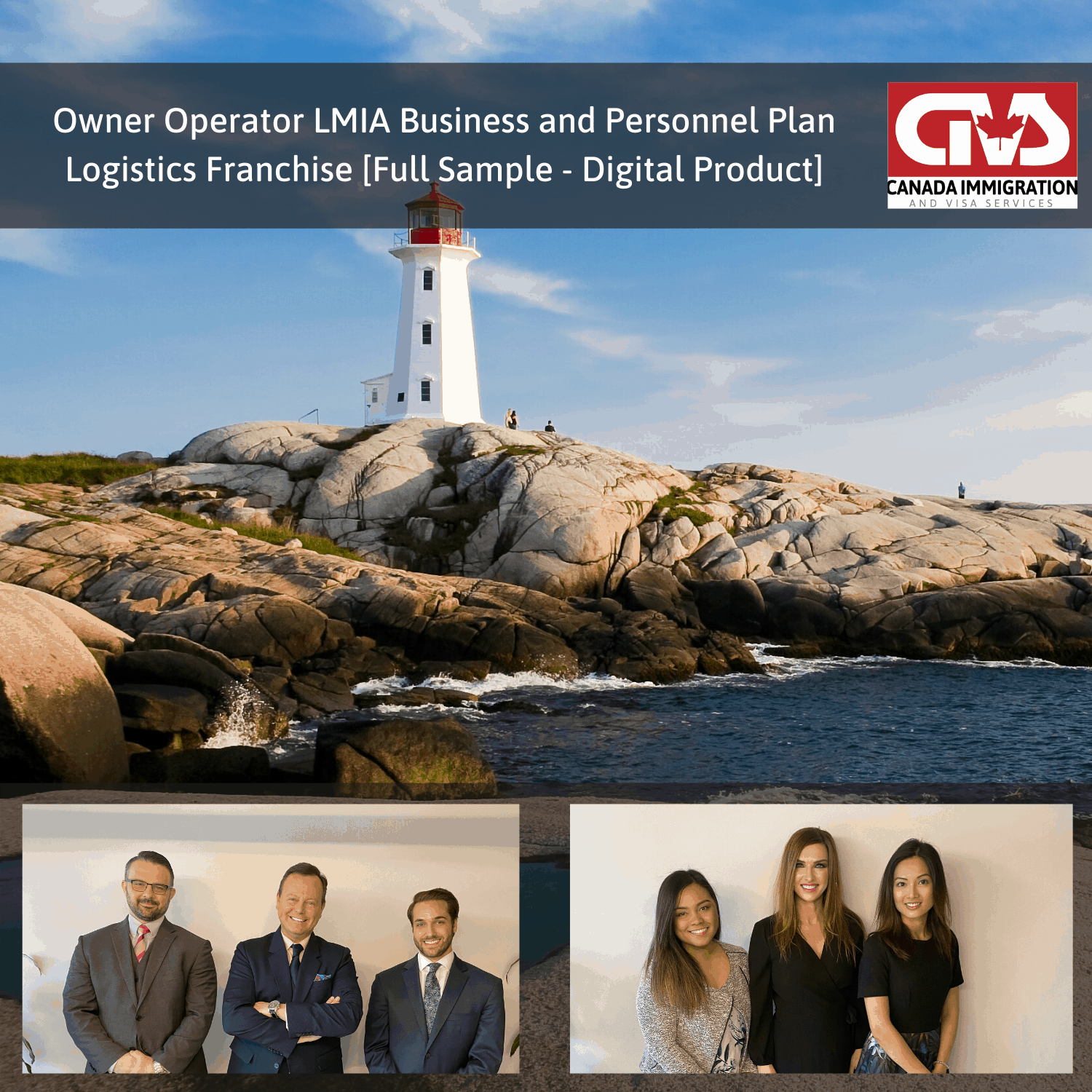 Owner Operator LMIA Business Plan Logistics Franchise