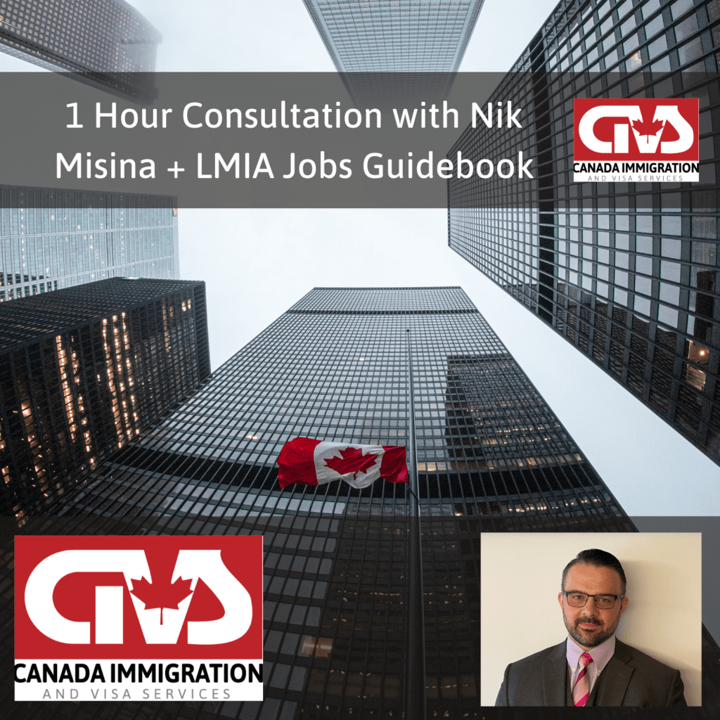 1 Hour Consultation With Nik Misina + LMIA Jobs Guidebook