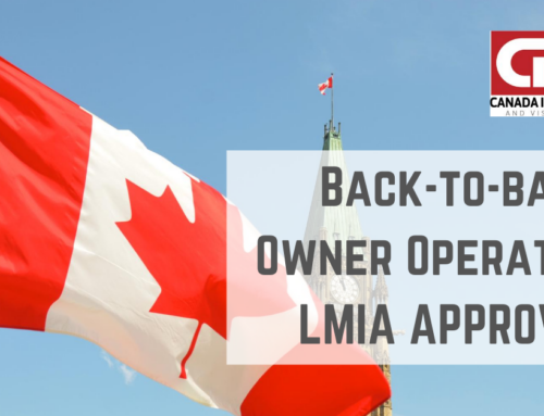 Special Bulletin: Service Canada Resumes Processing of Owner Operator Applications – Congratulations Clients for 2 Approvals This Week