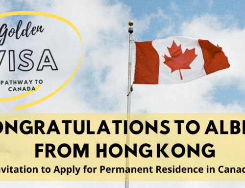 Congratulations to CIVS Friend, Albert from Hong Kong on Receiving Invitation to Apply for Permanent Residence in Canada – August 5, 2020