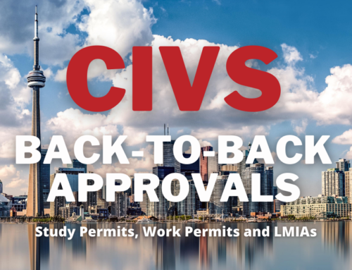 Special Bulletin: CIVS Clients Receive Back to Back LMIA, Study Permit and Work Permit Approvals This Week – September 12 2020